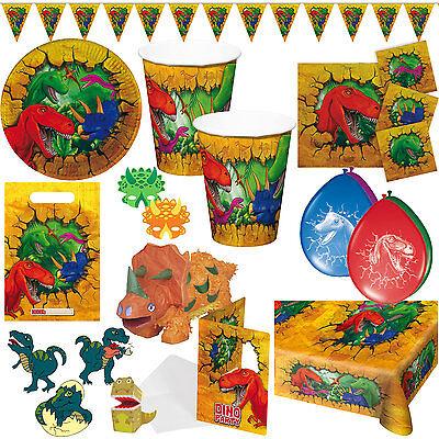 * DINOS & T-REX * - MEGA-AUSWAHL zum Kindergeburtstag Geburtstag Motto Party 2