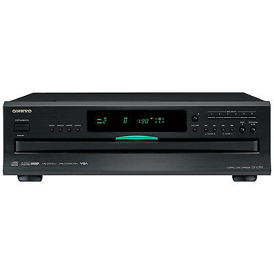 Onkyo 6-Disc Carousel CD Changer Player with Remote | DX-C390