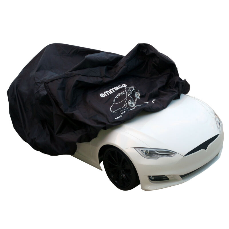 Emmzoe Single Rider Ride-On Car Cover for Kids Electric Vehicles