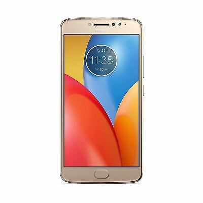 "Motorola E4 Plus 16GB Gold 5.5"" Smartphone Android 7.0 Unlocked SIM-Free Grade C"
