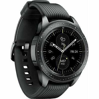 Samsung Galaxy Watch 42mm R815U Black Cellular Stainless Steel Smartwatch