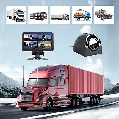 4 Channel 1080p Dash Cam for Cars, Trucks and RVs. with one year warranty