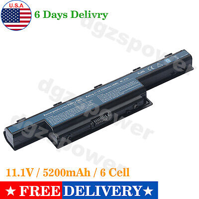 US Battery for Acer AS10D31 AS10D51 Gateway 4741 AS10D71 AS10D75 Laptop DGZS