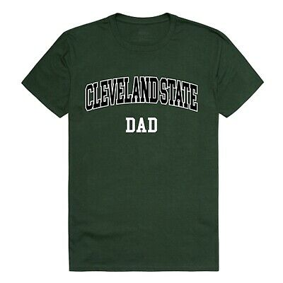 Cleveland State University Vikings CSU Dad Father NCAA Cotton Tee T Shirt  (University Square Cleveland)