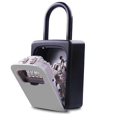 Key Combination Lock Box Lock Box With Code Key Storage Combo Door Locker