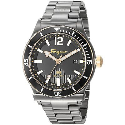 Ferragamo FF3320016 Men's 1898 Black Quartz Watch