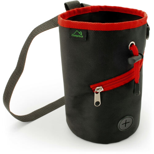 Black Dog Training Pouch Waist Belt Snack Treat Storage Bag Poo Bags Dispenser