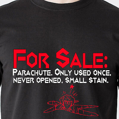 For Sale: Parachute Only used once never opened small stain retro Funny - Used Parachutes For Sale