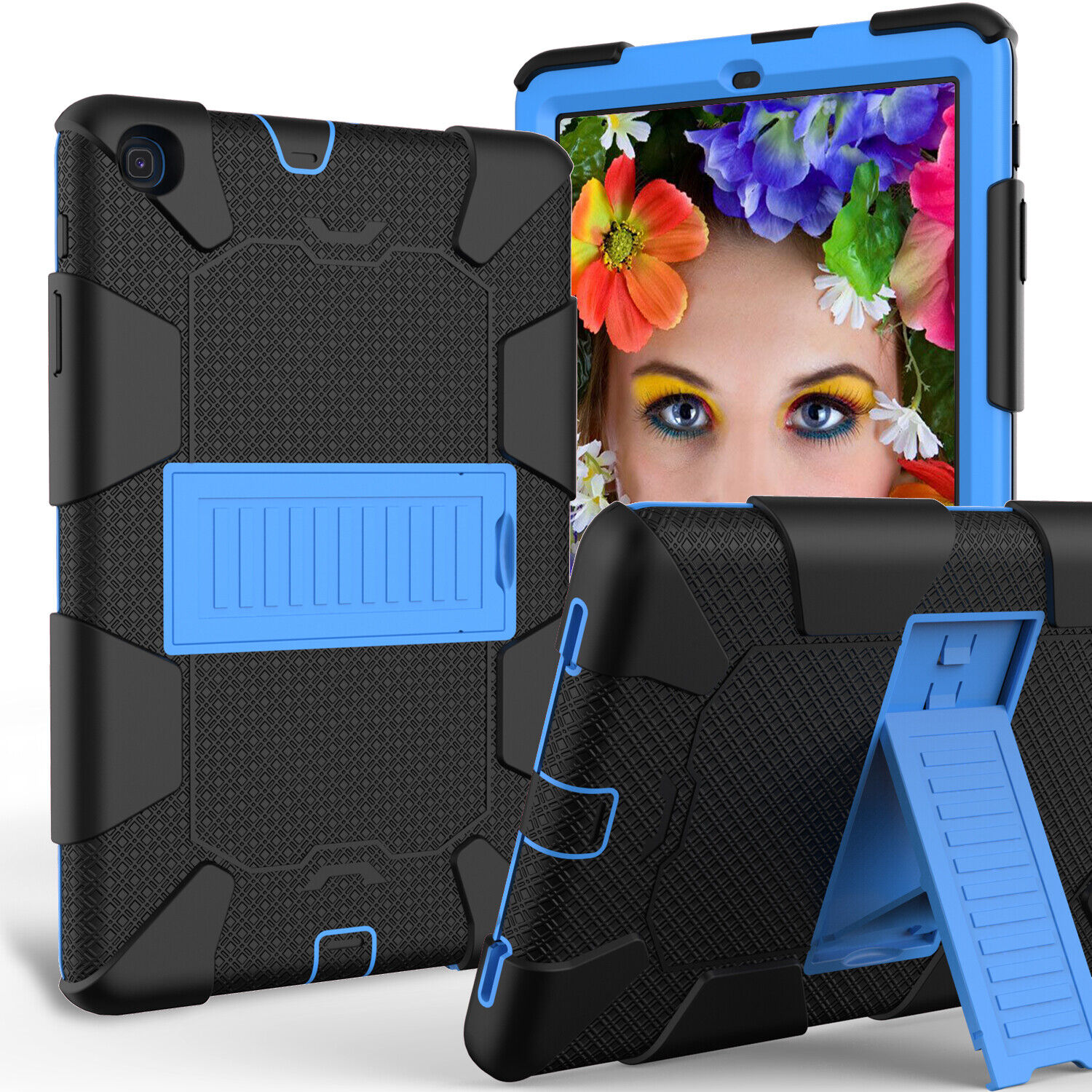 For Samsung Galaxy Tab A 8.0 2019 SMT290 295 Shockproof Tablet Case Stand Cover