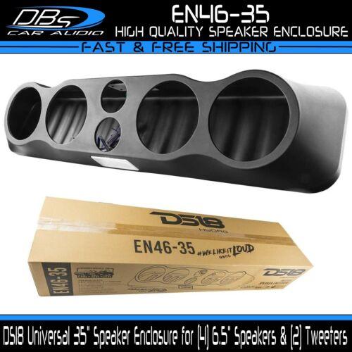 "DS18 EN46-35 Universal 35"" Sound Bar Enclosure Pod 4x 6.5"" Midrange & 2x Tweeter"