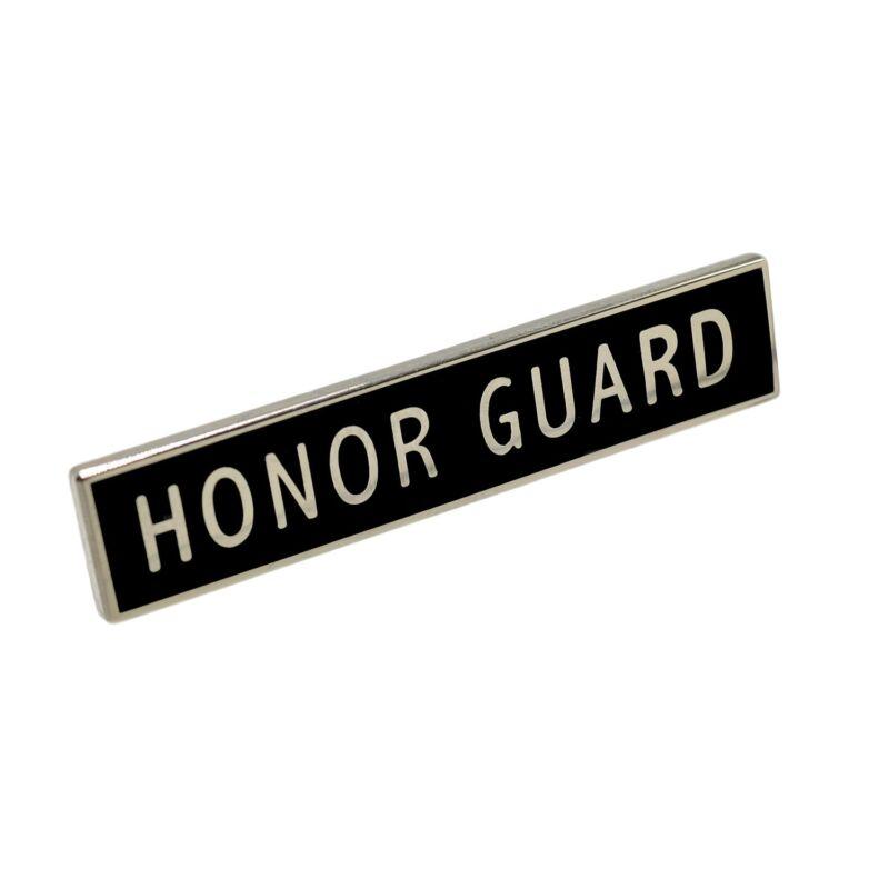 Honor Guard Citation Bar Police Uniform Merit Award Commendation Silver