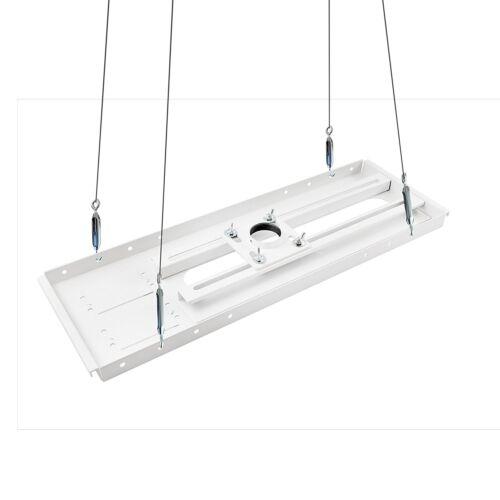 QualGear Pro-AV QG-PRO-PM-SCA-W Pro-AV Suspended Ceiling Adapter for 1.5-Inch NP