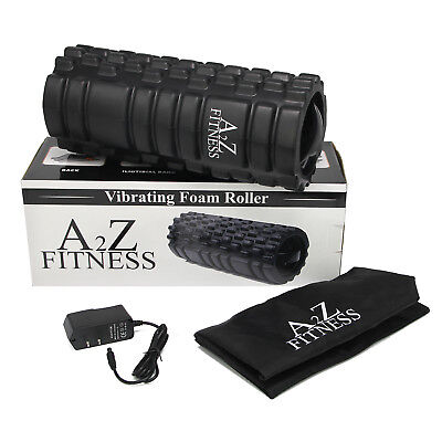 Foam Speed Bag - A2Z Fitness 3-Speed Rechargeable Electric Vibrating Foam Roller With carry bag