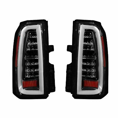 RECON 264277BK Chevy Tahoe and Suburban 15-17 Smoked Tail Lights (Chevy Suburban Recon Led)