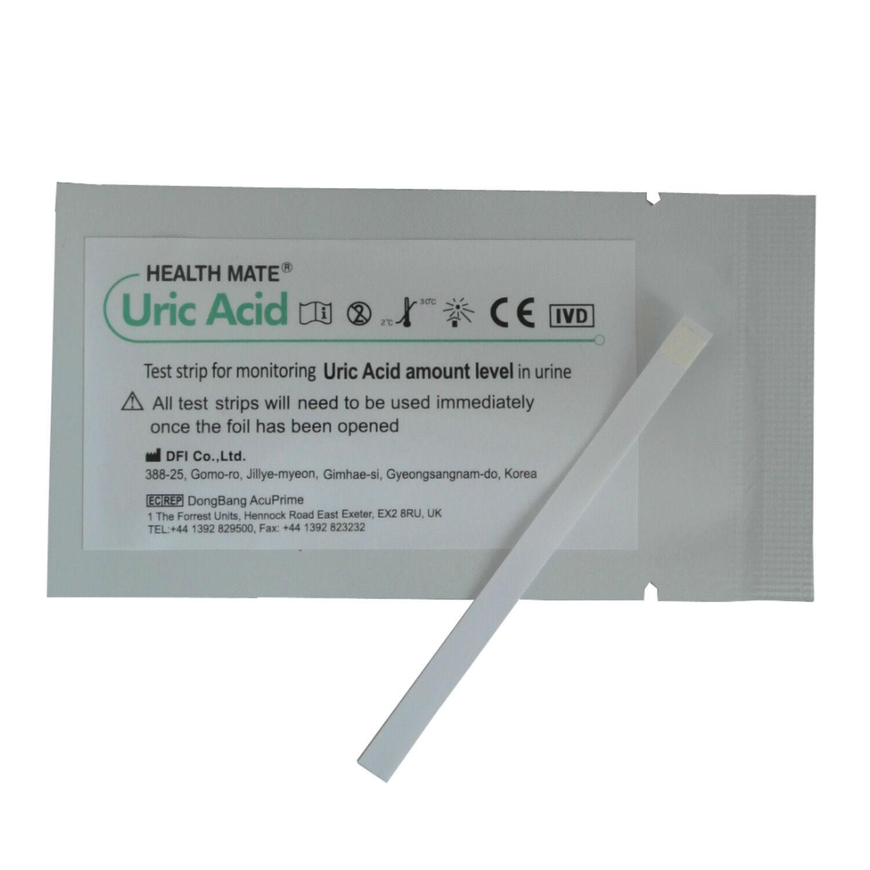 Gout Urine Test Strips - GP/Professional Uric Acid 1