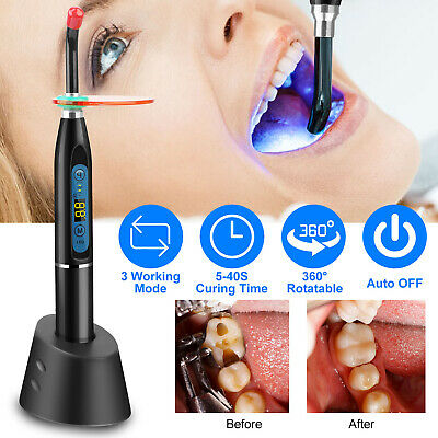 New Dental 5w Wireless Cordless Led Curing Light Lamp 1500mw Tool Us Fast Ship