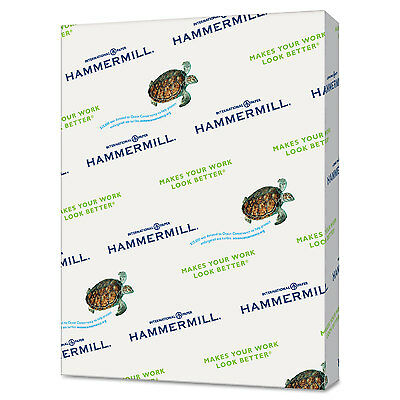 Hammermill Recycled Colored Paper 20lb 8-1/2 x 11 Pink 500 Sheets/Ream 103382