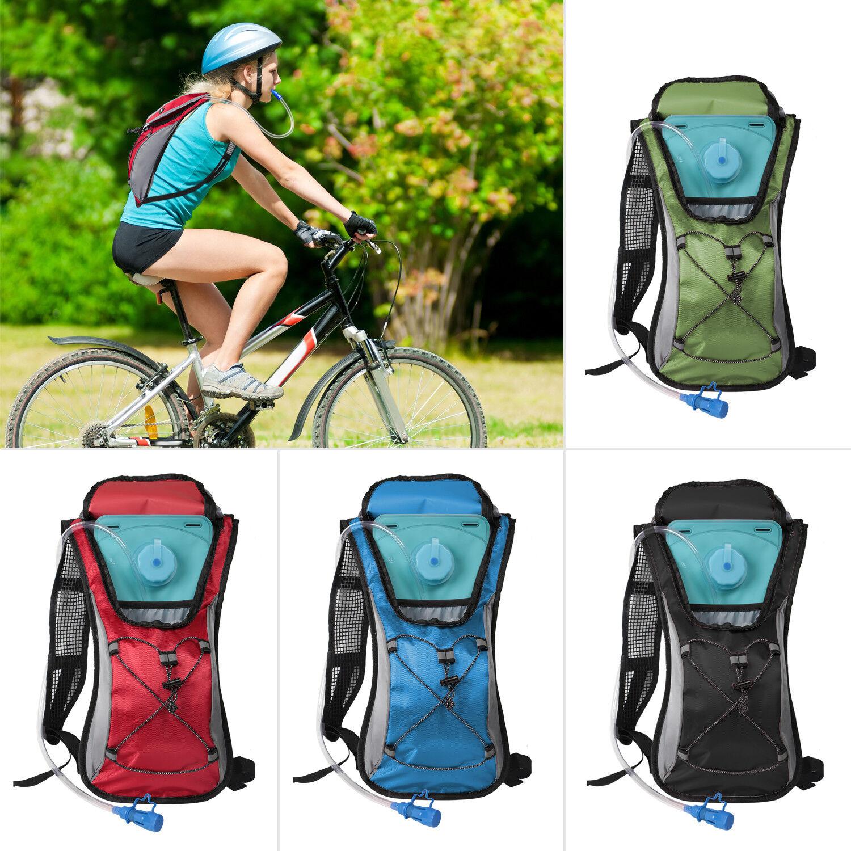 Sporting Backpack 2L Water Bladder Bag Hydration Packs Hikin