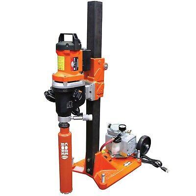 M-1 Combination Drill Rig Complete With Cb733 Core Bore Drill Motor