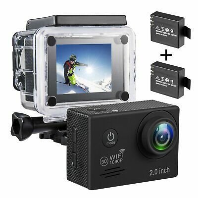 Best Vlog Camera Youtube Kit Wifi Video Camcorder Action Waterproof (Best Action Camcorders)