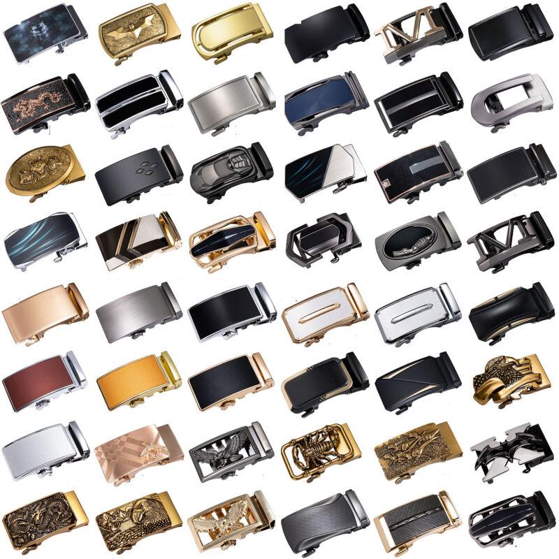Dibangu Mens Automatic Buckle For Leather Ratchet Belt Strap Waistband Waist