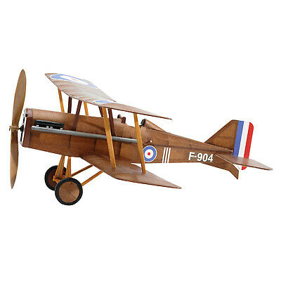 Vintage Model Co. British RAF SE5A Balsa Model Airplane Kit Rubber Band -