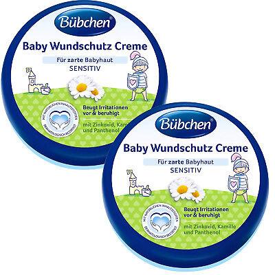 (28,03€/L) 2x 150ml Bübchen Baby Wundschutz Creme mit Sonnenblumenöl und Kamille
