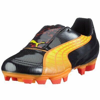 Puma v4.10 Tricks i FG Mens Firm Ground Football Boots Black No-Box