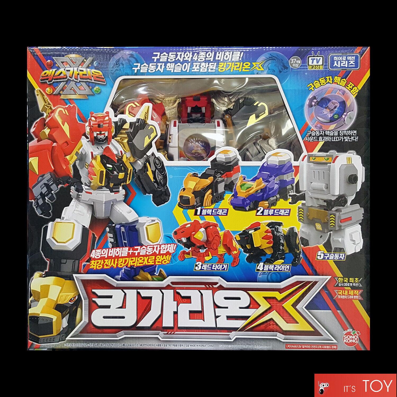 X-Garion MUSCLE GARION Transformer Robot Tiger Lion Phoenix Turtle Sonokong
