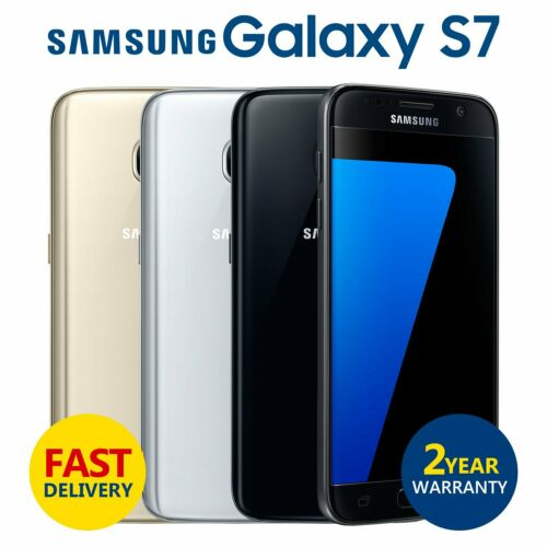 Android Phone - SAMSUNG GALAXY S7 32GB Unlocked SIM Free 4G LTE Android Mobile Phone Grade A+++