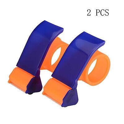 Packing Tape Dispenser Easy-mount Tape Gun Packaging Sealing Cutter Handheld 2pc