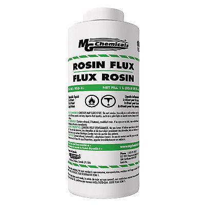 Mg Chemicals 835-1l Liquid Rosin Flux Non Corrosive Non Conductive 1liter New