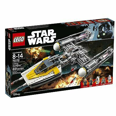 New Official LEGO Star Wars:  Y-Wing Starfighter - Set #75172, sealed in its box