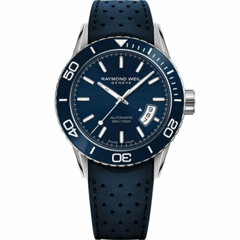Raymond Weil 2760-SR3-50001 Men Freelancer Blue Automatic Watch