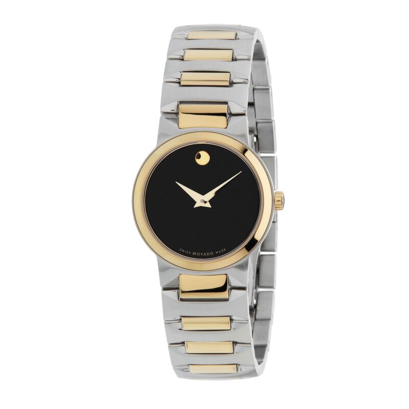 Movado 0607296 Women Temo Two Tone Quartz Watch