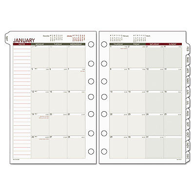 Day Runner Monthly Planning Pages 5 12 X 8 12 2019 061685y
