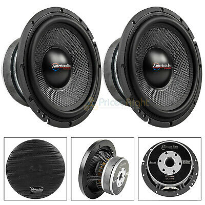4 American Bass MX 252T Aluminum Super Loud Tweeter 600W 4 ohm Car Audio Speaker