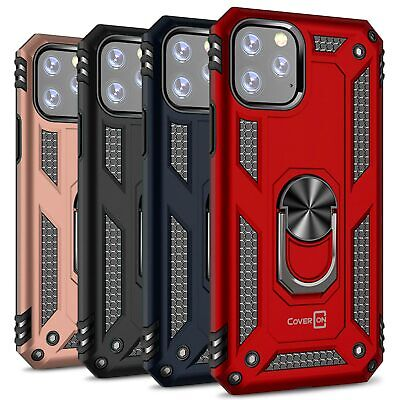 Magnetic Ring Holder Case Stand For iPhone 11 Pro XI Max Shockproof Back Cover