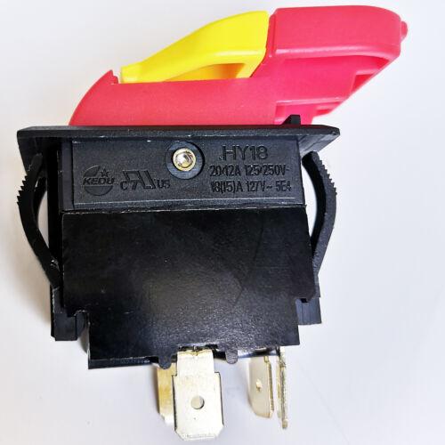 KEDU HY18 Electromagnetic Pushbutton Switches 4Pin Start Stop Push Button Switch