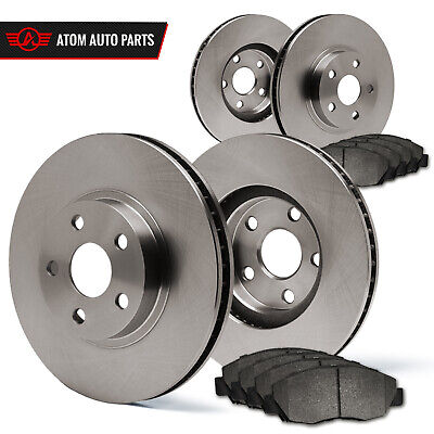 09 Mitsubishi Lancer 2.0L Exc.Turbo (OE Replacement) Rotors Metallic Pads F+R for sale  Richmond Hill