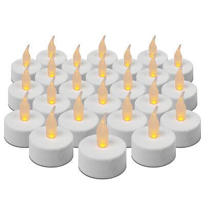 ED Teelicht flackernd in Aufbewahrungsbox flammenlose Kerzen (Flammenlose Tee-kerzen)