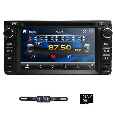 Car DVD Player GPS Navi Stereo Radio For TOYOTA Fj Cruiser Yaris Camry HIACE DAB