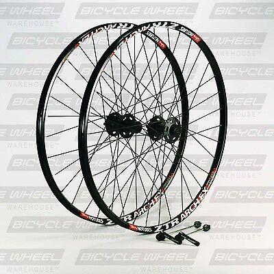 "Stans Arch EX 26"" mountain bike wheel set, 26"",Shimano XT M756 Disc, DT Swiss"