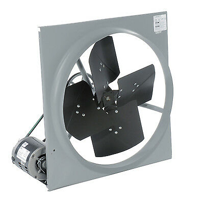 36 Exhaust Fan - Belt Driven - 7730 Cfm - 120 Volts - 12 Hp - 1 Phase
