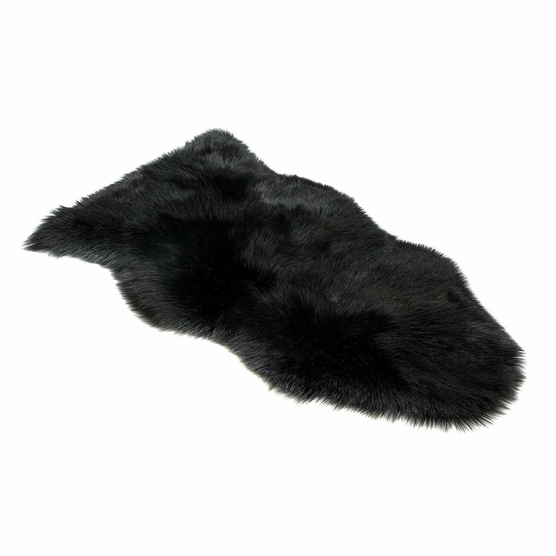 Silky Super Soft White Faux Sheepskin Shag Rug Faux Fur | Ma