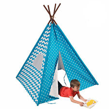 Starry Skies Kids Teepee By KidKraft Indoor Easy Playhouse Tent Portable Fabric