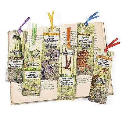 48 Laminated Dinosaur Bookmarks BIRTHDAY Party Favors T Rex Paleontologists - Dinosaurs Birthday