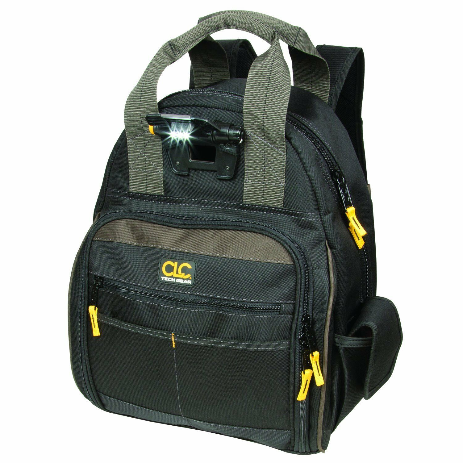 CLC TECHGEAR Lighted Tool Backpack