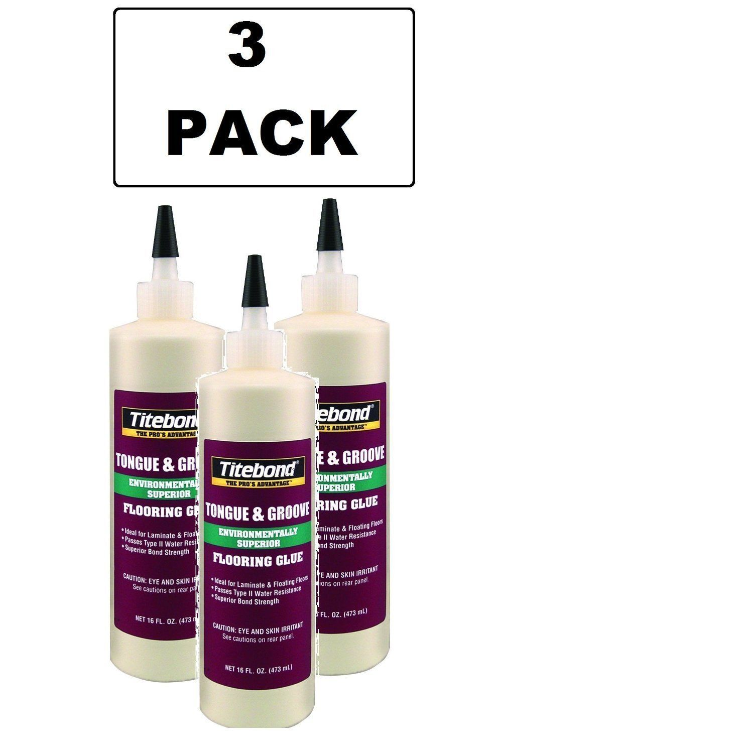 3 pack 2104 tongue and groove glue