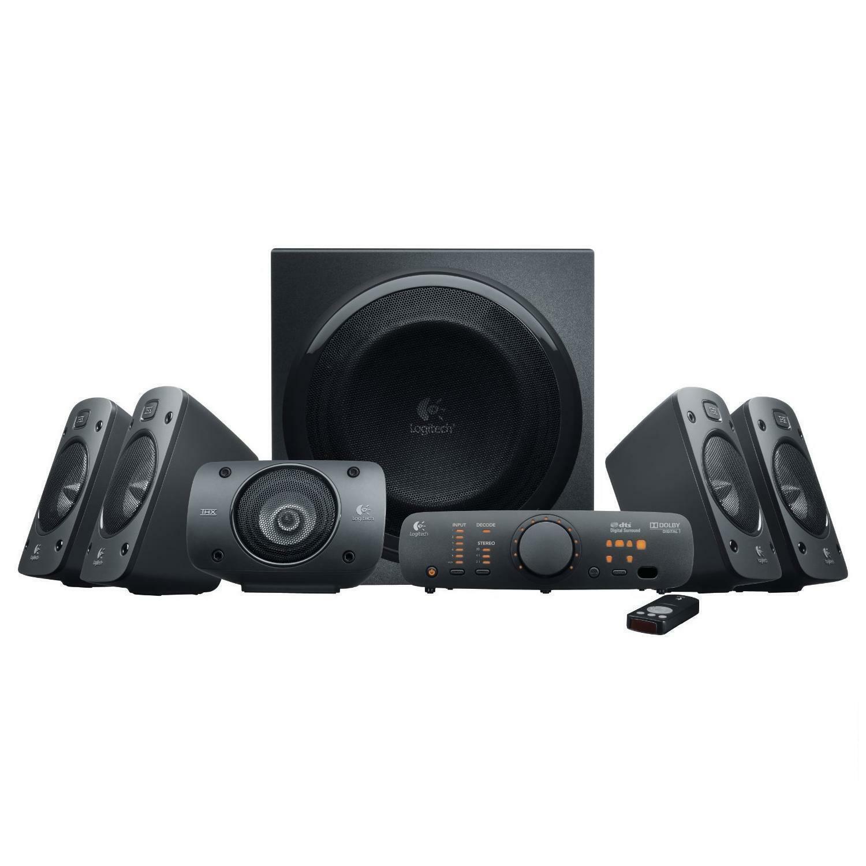 Logitech 5.1 THX® Certified Surround Sound Speaker System